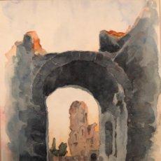 Arte: HERMENEGILDO ESTEBAN -PINTOR DE ZARAGOZA. Lote 178037740