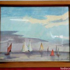 Arte: ACUARELA FIRMADA. Lote 178099457
