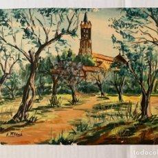 Arte: ENRIQUE MUNNÉ - SANTUARI DE LA SALUT - SANTUARIO DE LA SALUD. SABADELL. Lote 178137018