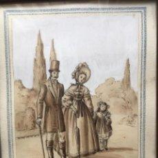 Arte: ESCENA COSTUMBRISTA DE JOSÉ CLAPERA COROMINAS. Lote 178572317