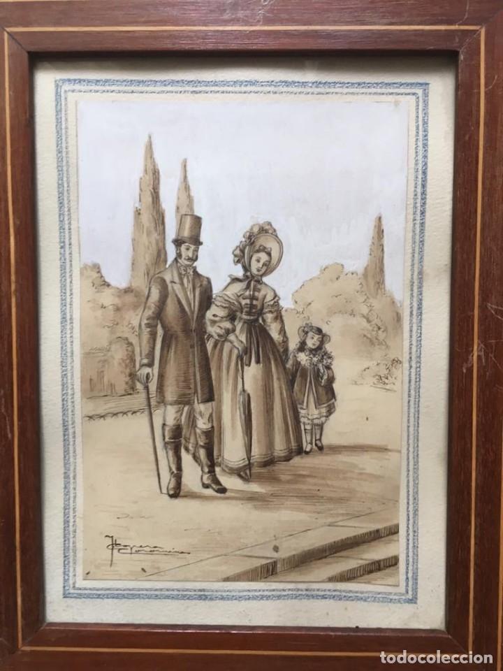 Arte: Escena costumbrista de JOSÉ CLAPERA COROMINAS - Foto 2 - 178572317