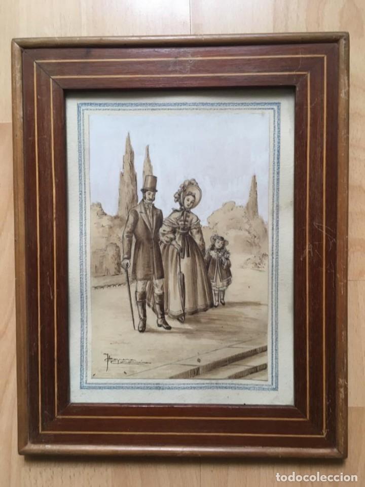 Arte: Escena costumbrista de JOSÉ CLAPERA COROMINAS - Foto 3 - 178572317