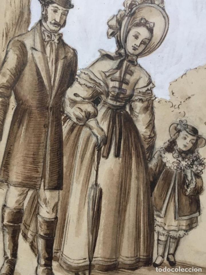 Arte: Escena costumbrista de JOSÉ CLAPERA COROMINAS - Foto 4 - 178572317