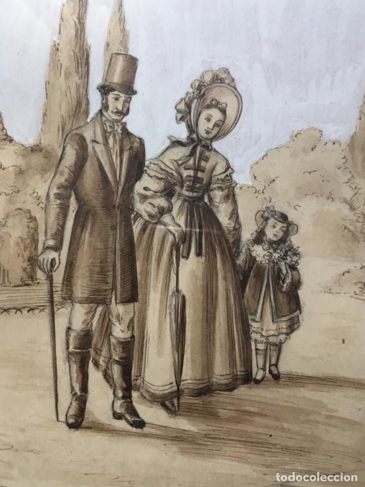 Arte: Escena costumbrista de JOSÉ CLAPERA COROMINAS - Foto 5 - 178572317