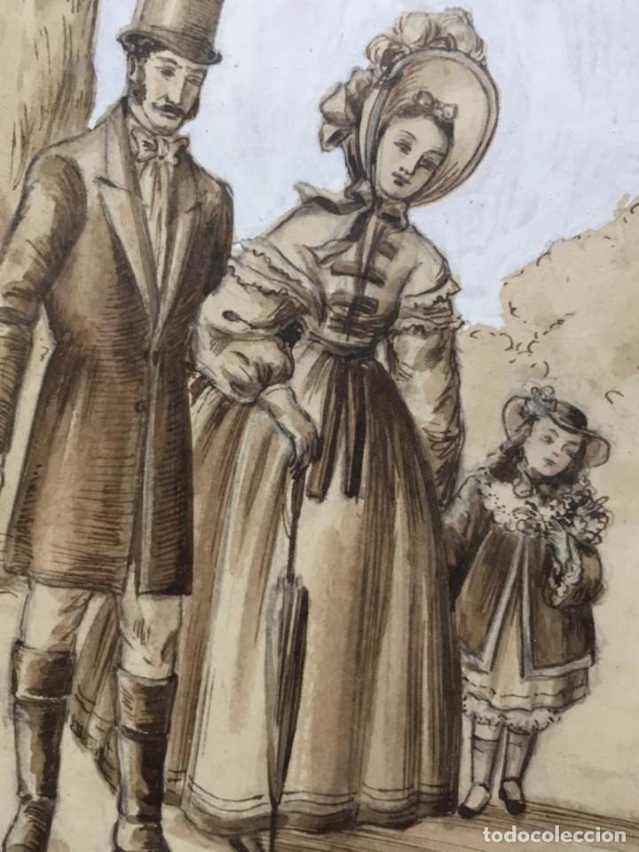 Arte: Escena costumbrista de JOSÉ CLAPERA COROMINAS - Foto 6 - 178572317