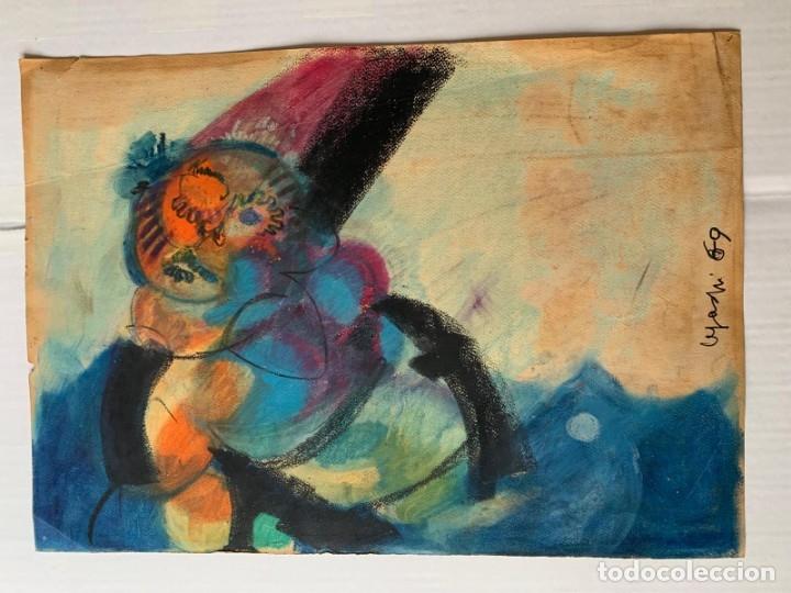 LEGAZPI, JOSE MANUEL LEGAZPI GAYOL - PAYASO (Arte - Acuarelas - Contemporáneas siglo XX)