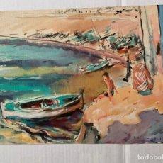 Arte: PERE CLAPERA - MARINA. Lote 178891382