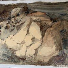 Arte: LEGAZPI, JOSE MANUEL LEGAZPI GAYOL - ESCENA EROTICA. Lote 178892267