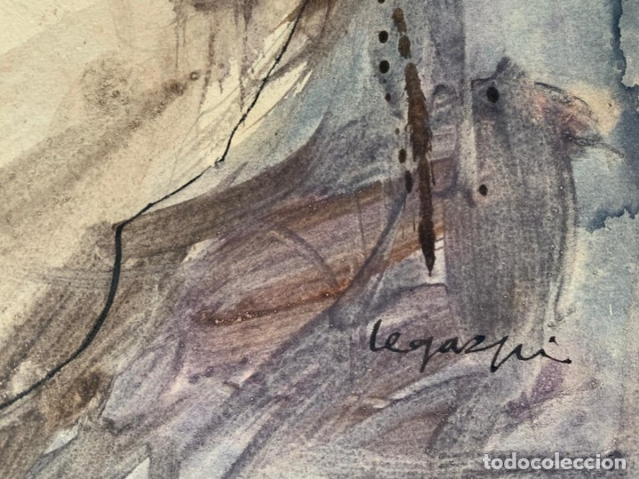 Arte: LEGAZPI, JOSE MANUEL LEGAZPI GAYOL - ESCENA EROTICA - Foto 4 - 178892267