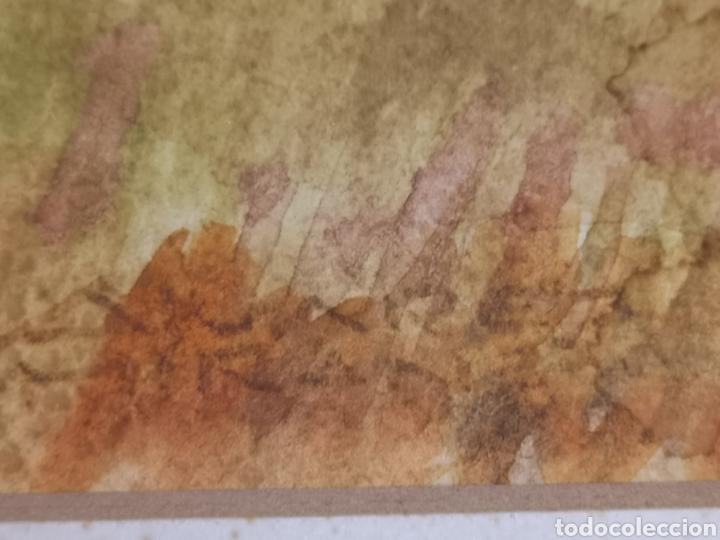 Arte: Acuarela del pintor Álvarez Miranda - Foto 2 - 178946322