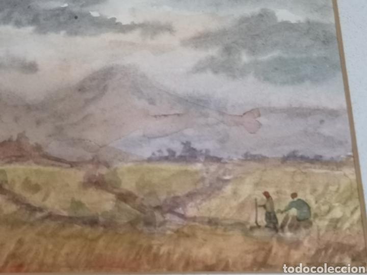 Arte: Acuarela del pintor Álvarez Miranda - Foto 3 - 178946322