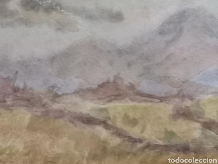 Arte: Acuarela del pintor Álvarez Miranda - Foto 4 - 178946322
