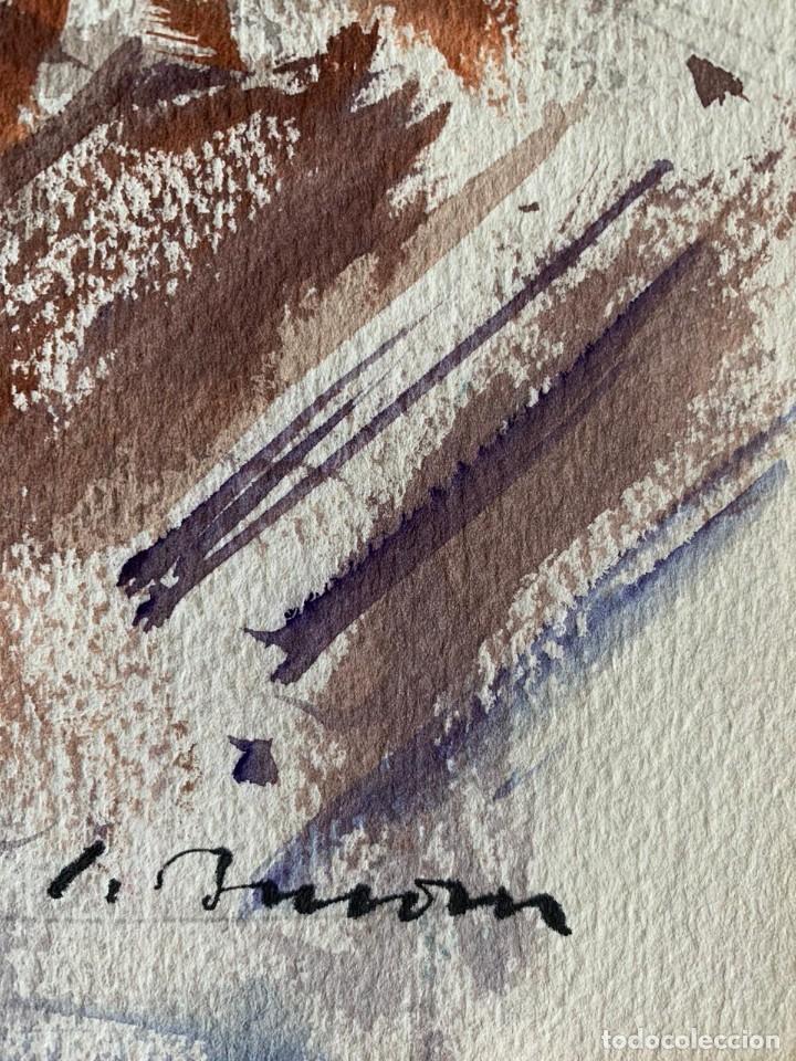 Arte: SIMÓ BUSOM GRAU - JARRÓN CON FLORES - Foto 2 - 180013281