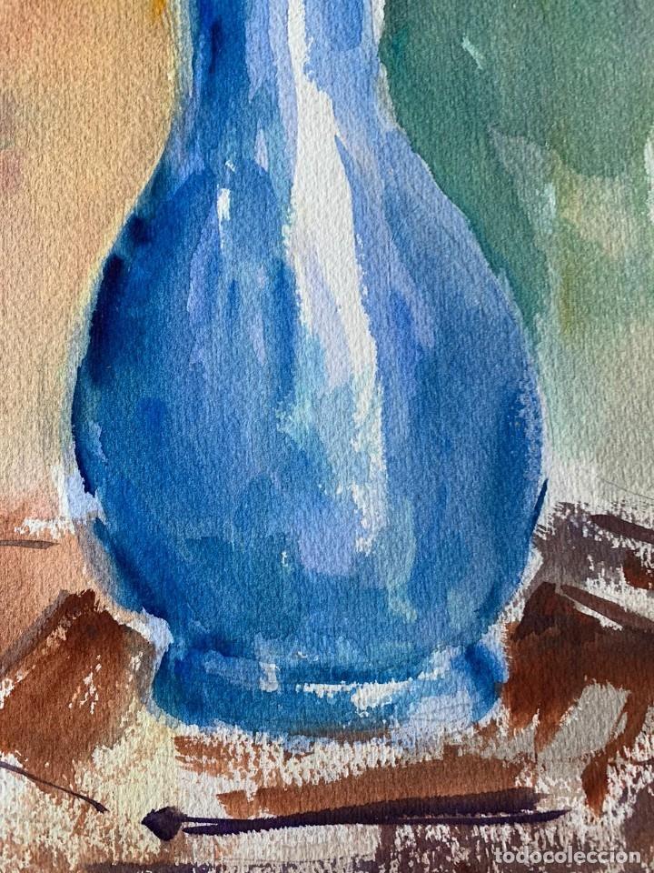 Arte: SIMÓ BUSOM GRAU - JARRÓN CON FLORES - Foto 4 - 180013281