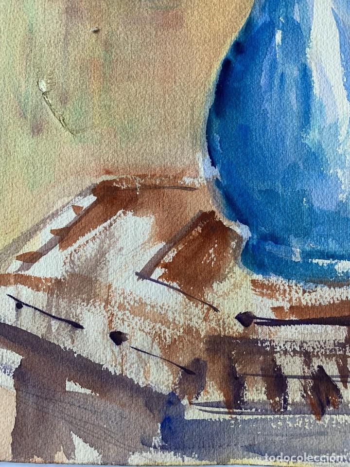 Arte: SIMÓ BUSOM GRAU - JARRÓN CON FLORES - Foto 6 - 180013281