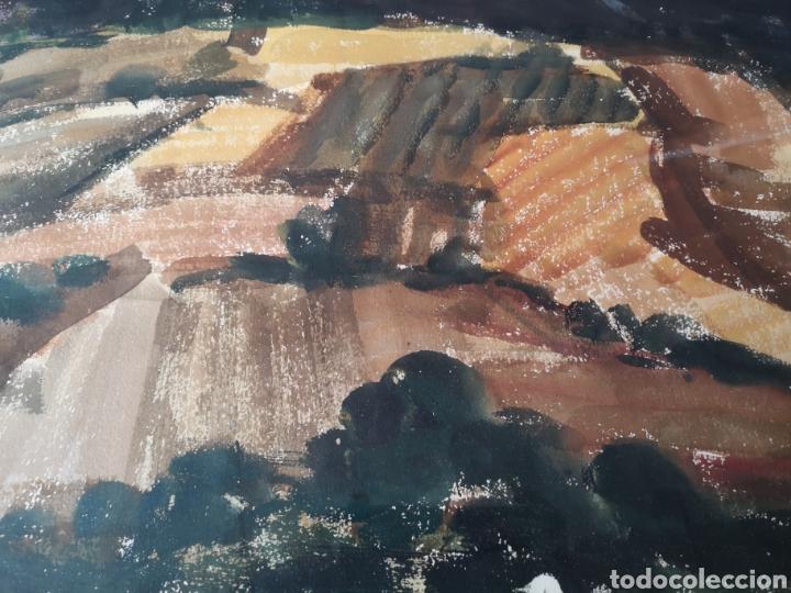 Arte: A. FERNANDEZ, FIRMADO Y FECHADO, 1963, Medidas con marco 68x54cm - Foto 3 - 180014122
