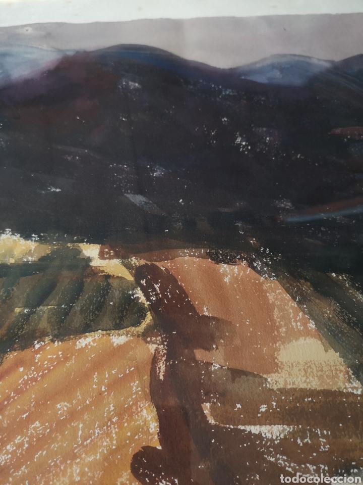 Arte: A. FERNANDEZ, FIRMADO Y FECHADO, 1963, Medidas con marco 68x54cm - Foto 6 - 180014122