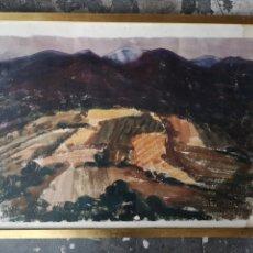 Arte: A. FERNANDEZ, FIRMADO Y FECHADO, 1963, MEDIDAS CON MARCO 68X54CM. Lote 180014122