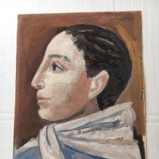 Art: (VENDIDO) MIGUEL IBARZ ROCA - RETRATO. Lote 180017640