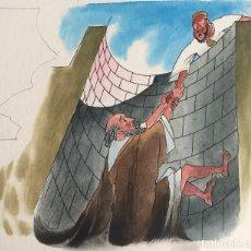 Arte: JEREMIAS. PIERRE MONNERAT (SUIZA 1917-ESPAÑA 2005). Lote 180934487