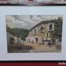 Arte: ANTONIO GUERRERO, ACUARELA. Lote 180952283