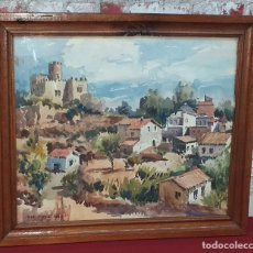 Arte: JOSÉ OLIVE GÓMEZ ( BARCELONA 1944 ) ACUARELA AÑO 1975. Lote 180952880