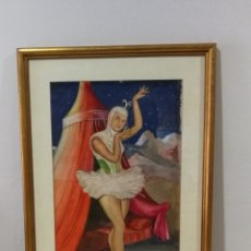 Arte: ACUARELA DE JM DOMINGO BLAY 1960 REUS TARRAGONA. Lote 181316932