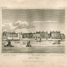 Arte: SALISBURY HOUSE ABOUT 1630 EDITED POR THOMAS HURST. Lote 181336670