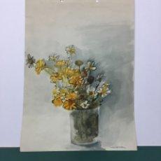 Arte: ACUARELA ARTISTA MAITE OCA. Lote 181502908