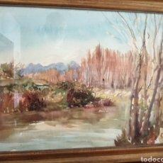 Arte: ACUARELA FIRMADA. DESCONOZCO AUTOR.. Lote 181880088