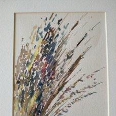 Arte: ACUARELA DE XAVIER GALIZA. Lote 182072303