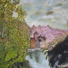 Arte: ACUARELA ORIGINAL UNICA - 1982 - FIRMADA - 31 X 30 CM - JUST S. BASSAS. Lote 182099106