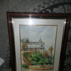 Arte: ORIGINAL ACUARELA FIRMADA FONT ROIGA ALCOY . Lote 182205777