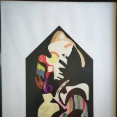 Arte: ARTISTA QASTIYO. ACRÍLICO SOBRE CARTÓN.. Lote 182370726