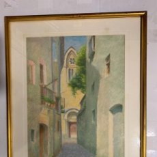 Arte: JOAN ROE CLARAMUNT, JUAN ROÉ * PAISAJE URBANO. Lote 182418696