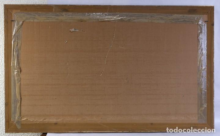 Arte: Acuarela sobre papel Paisaje Montaña con Iglesia Escuela catalana mediados siglo XX - Foto 5 - 182695526