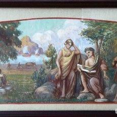 Arte: ACUARELA SOBRE PAPEL DE JOHN REINHARD WEGUELING RWS (REINO UNIDO 1849- 1927)ATRIBUIDA. Lote 182863441