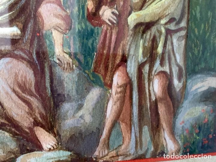 Arte: Acuarela sobre papel de John Reinhard Wegueling RWS (Reino Unido 1849- 1927)Atribuida - Foto 5 - 182863441