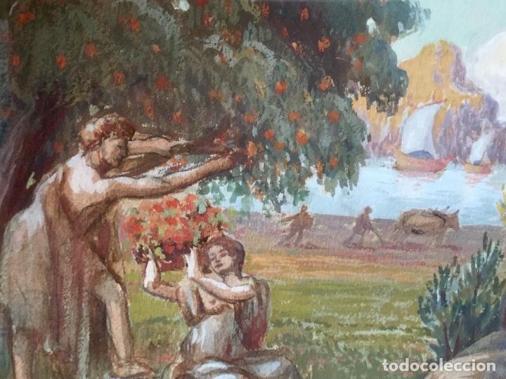 Arte: Acuarela sobre papel de John Reinhard Wegueling RWS (Reino Unido 1849- 1927)Atribuida - Foto 6 - 182863441