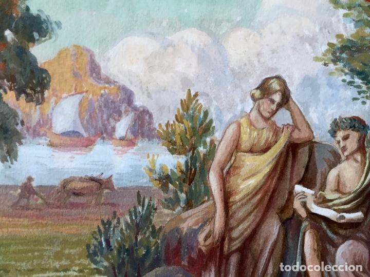 Arte: Acuarela sobre papel de John Reinhard Wegueling RWS (Reino Unido 1849- 1927)Atribuida - Foto 7 - 182863441