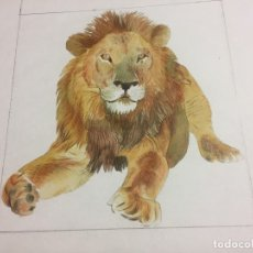 Arte: ORIGINAL DE P.MONNERAT, SELLADO Y REPRODUCIDO. LEON. Lote 183017322