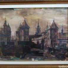 Arte: MAGNÍFICA ACUARELA FECHADA EN 1975. DESCONOZCO AUTOR.. Lote 183077370