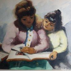 Arte: MATERNIDAD POR JOAN TORRABADELL FONTCUBERTA. Lote 183271002