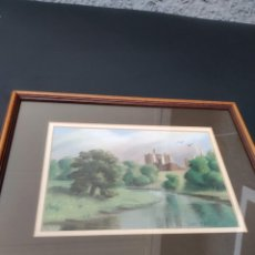 Arte: PINTURA ACUARELA, 1933 AÑO, ORIGINAL . GOHN J KERR. Lote 183322377