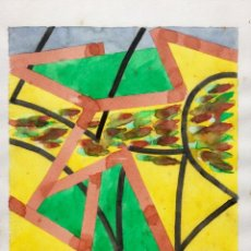 Arte: TERENCE ANDREW ROBERTS (GEORGETOWN 1949) OBRA TITULADA POST-MODERNISMO ROMÁNTICO FECHADA DEN 1986. Lote 183585026