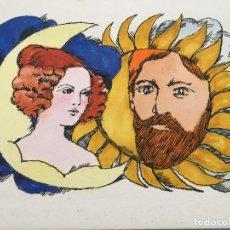 Arte: BOADA, ILUSTRACIÓN ORIGINAL 1972, CATALOGADA. . Lote 183706977