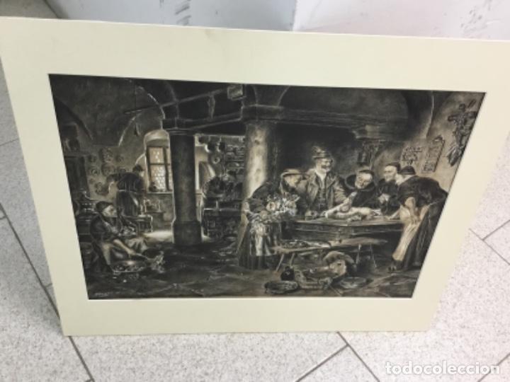 ESCUELA FRANCESA SIGLO XIX MUCHA CALIDAD (Arte - Acuarelas - Modernas siglo XIX)