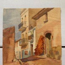 Arte: PERE CLAPERA - PAISAJE URBANO. Lote 184113906