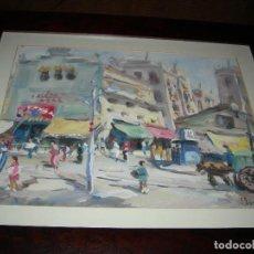 Arte: 2 LUMINISTAS GOACHES DE J ESCAYOLA. Lote 184204250