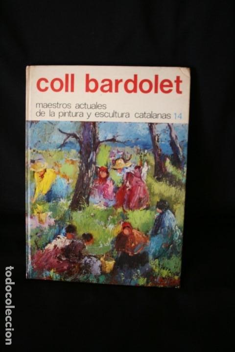 Arte: COLL BARDOLET, DIBUJO EN LA PRIMERA PAGINA DEL LIBRO, DEDICADO Y FIRMADO, VALLDEMOSA 1977. - Foto 2 - 184522153